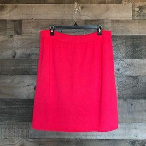 St. John Sport by Marie Gray Pink Knit Skirt